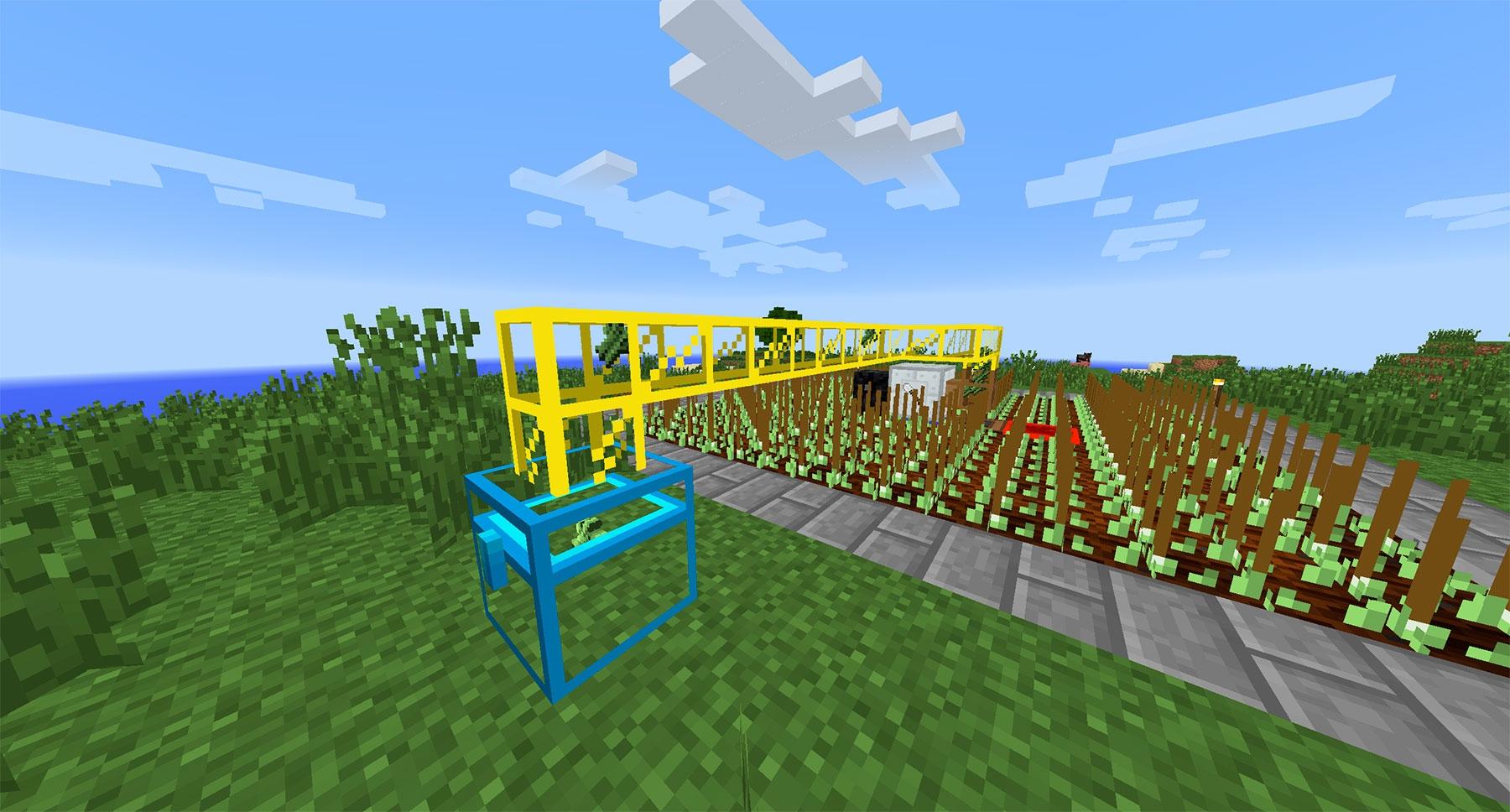 Авто ферма земляных культур в IC2 (4.4)