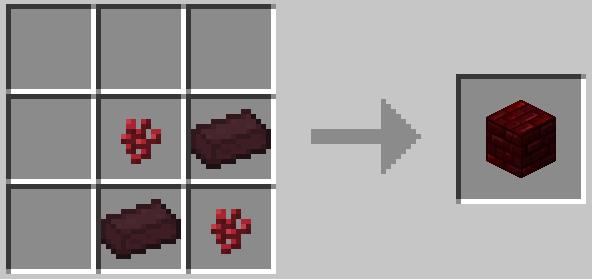 Красный адский кирпич / Red Nether Brick