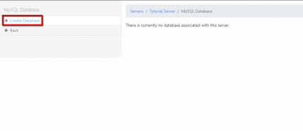 Создание mySQL базы данных (Шаг 2)