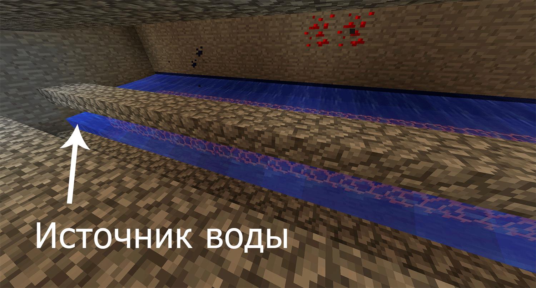 Ферма слизи (сток для воды 3)