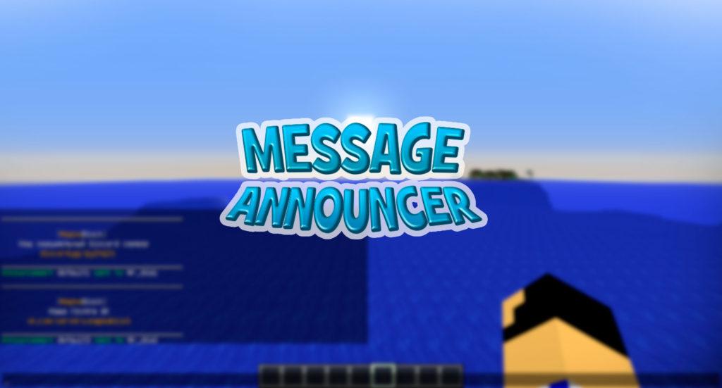 MessageAnnouncer